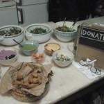 Jantar falafel