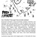 Flyer/cartaz - Bicicletada Anti-Fracking Cicloficina