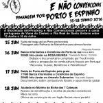 Bicicletada Anti-Fracking - Passagem por Porto e Espinho